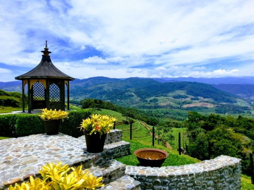 costa rica, landscape, photography, nature, mountainside, valley, color, photo